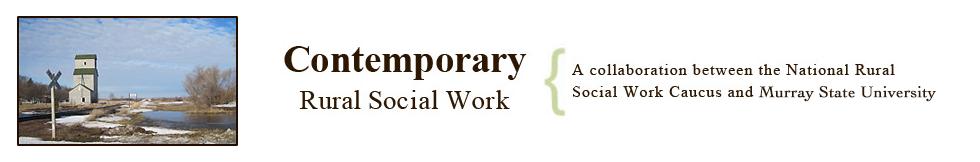 Contemporary Rural Social Work Journal